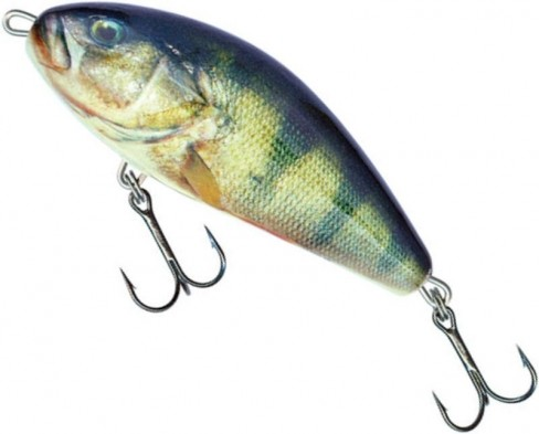 Vobler Salmo Fatso Sinking F10S, Real Perch, 10cm, 52g