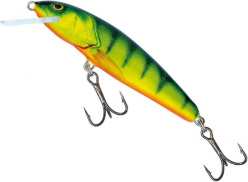 Vobler Salmo Minnow Floating M9F, Hot Perch, 9cm, 10g