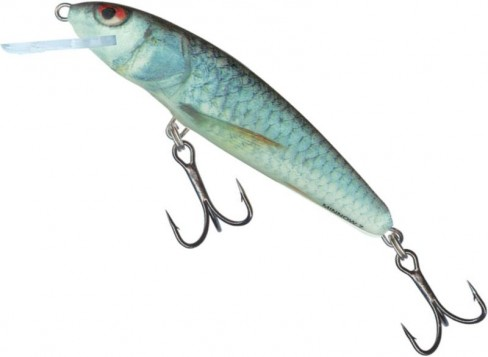 Vobler Salmo Minnow Floating M9F, RD, 9cm, 10g