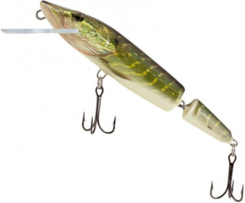 Vobler Salmo Pike Jointed Floating PE11JF, RPE, 11cm, 13g