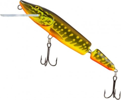 Vobler Salmo Pike Jointed Floating PE13JF, HPE, 13cm, 21g