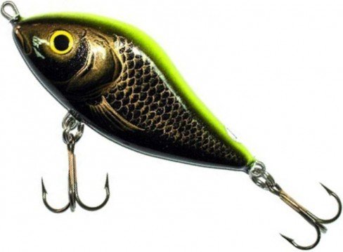 Vobler Salmo Slider Floating SD10F, CK, 10cm, 36g