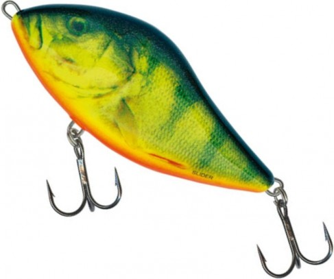 Vobler Salmo Slider Floating SD10F, Real Hot Perch, 10cm, 36g