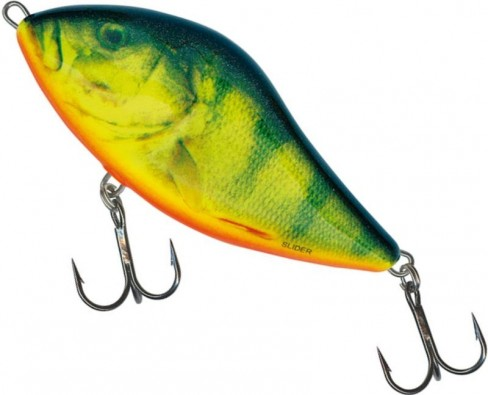 Vobler Salmo Slider Floating SD7F, Real Hot Perch, 7cm, 17g