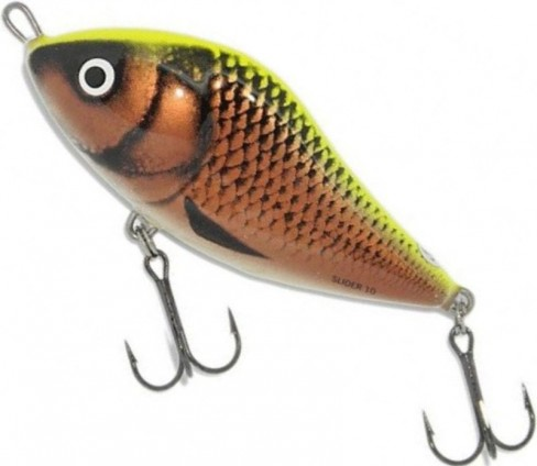Vobler Salmo Slider Floating SD7F, YCO, 7cm, 17g