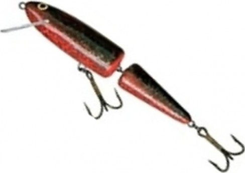 Vobler Salmo Whitefish Jointed SW13JF, SNO, 13cm, 18g