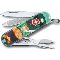 Briceag Victorinox Classic Limited Edition 2019, Swiss Mountain Dinner