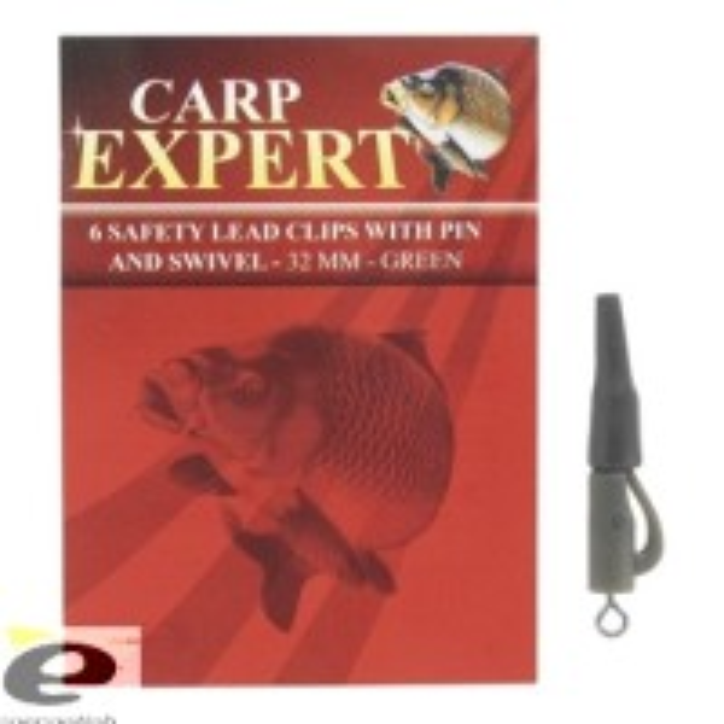 Carp Expert Lead Clips cu Vartej