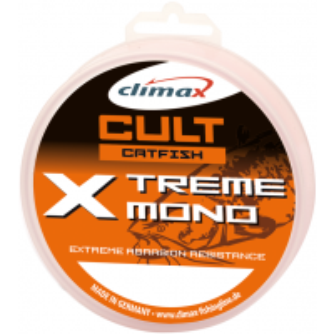 Fir Monofilament Climax Cult Catfish X-treme Mono, Fluo Green, 500m