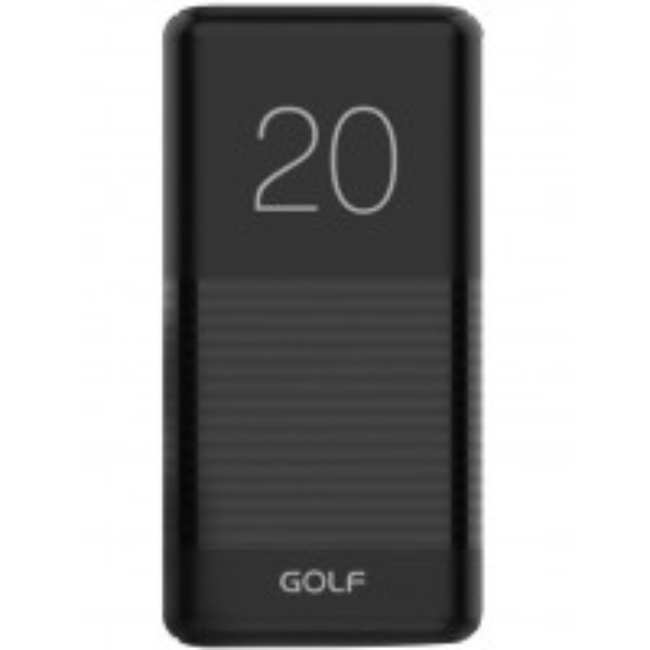 Acumulator Extern Golf G81 Power Bank, 20000mAh, 2 x USB, 14x6.8x2.8cm