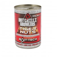 Alune Tigrate Bait Tech Hot Chilli Growlers Tigernuts 400g
