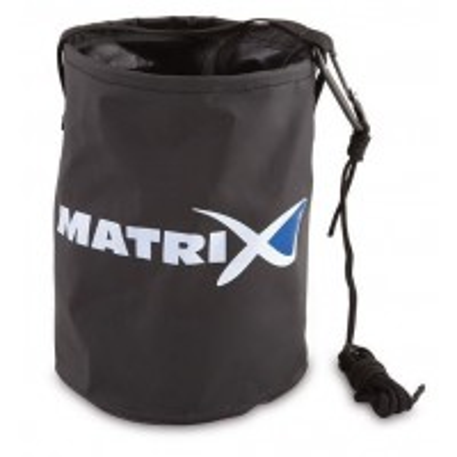 Bac Nada Matrix Collapsible Water Bucket + Cord/Clip