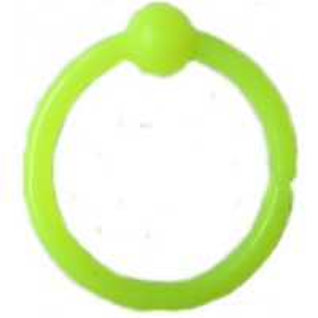 Bambina Mostiro tip Inel, Verde Fluo, 20buc/plic