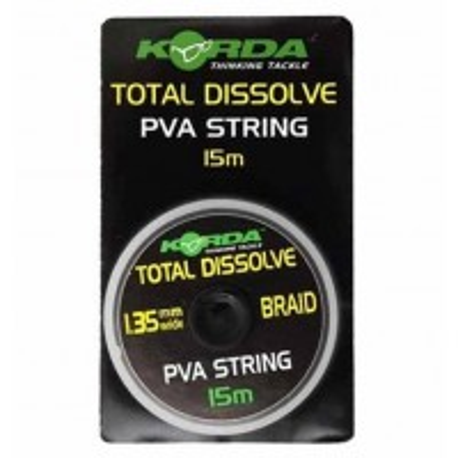 Fir PVA Solubil Korda String Total Dissolve, 1.35mm, 15m