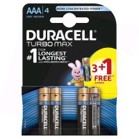 Baterie Duracell Turbo Max LR3 (AAA) 1.5V, 4buc/blister
