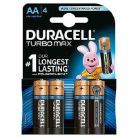 Baterie Duracell Turbo Max LR6 (AA) 1.5V, 4buc/blister