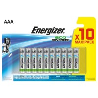 Baterie Energizer Eco Advanced AAA 1.5V, 10buc/set