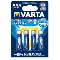 Baterie Varta High Energy AAA 1.5V 4buc/set