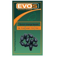 Bilute Antisoc Evos Quick Change Beads Matte Green 10buc/plic