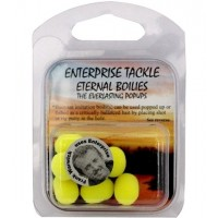 Boilies Artificial Flotant Enterprise Tackle Eternal Boilies Fluo, 11mm, 7buc/plic