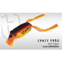 Broasca Colmic Herakles Crazy Frog 6.5cm 13g Hot Tiger