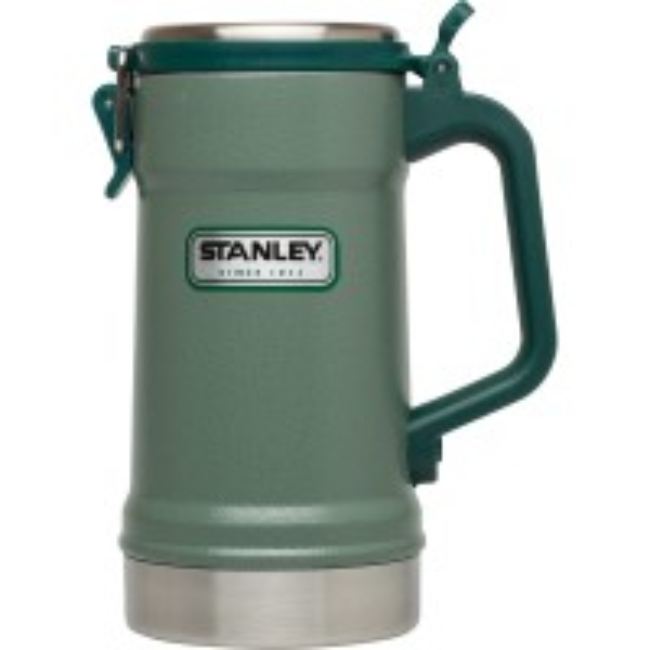 Cana Stanley Classic Vacuum Stein, 0.7L Hammertone Green
