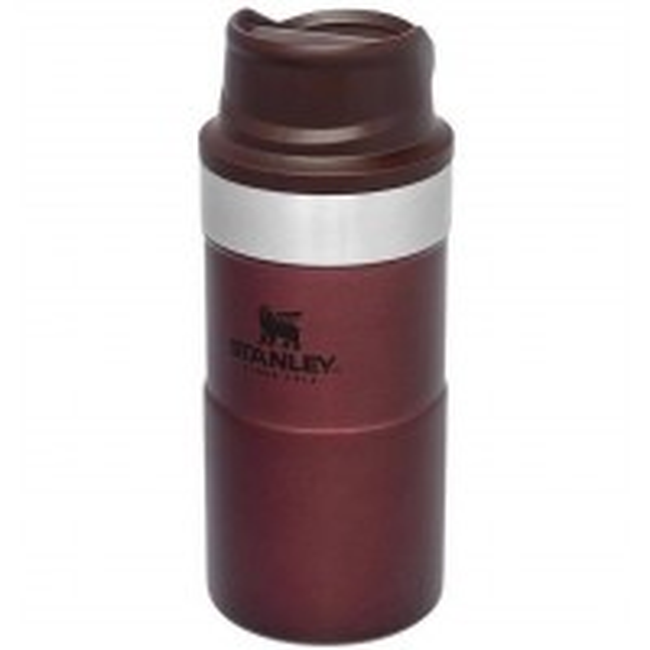 Cana Termoizolanta Stanley Trigger-Action Travel Mug Burgundy, 0.25 Litri