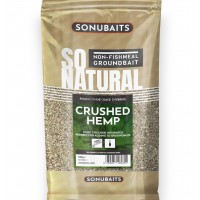 Canepa Macinata Sonubaits SO NATURAL Crushed Hemp, 500g