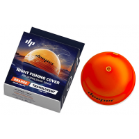 Carcasa pentru Sonar Deeper Night Fishing Cover, Translucent Orange