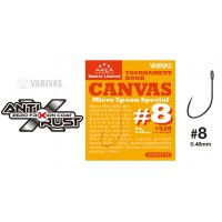 Carlig Varivas Super Trout Area Tournament Canvas, Micro Spoon Special Nr.8, 15buc/plic