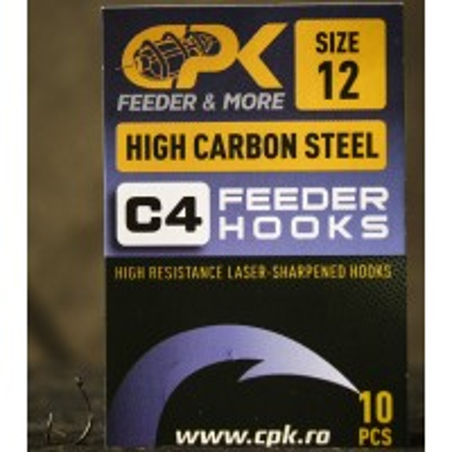 Carlige CPK C4 Feeder Hooks, 10buc/plic