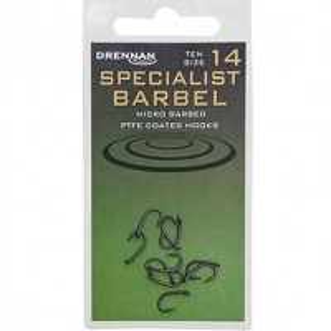 Carlige Drennan Super Specialist Barbel, 10buc/plic
