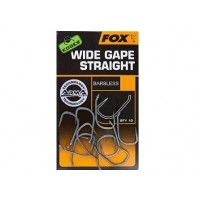 Carlige Fox Edges Armapoint Wide Gape Straight Barbless, 10buc/plic
