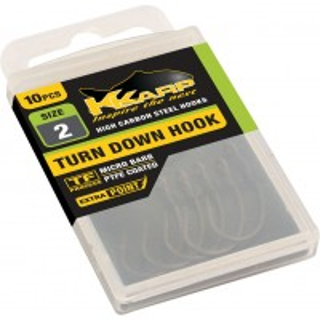 Carlige K-Karp Turn Down 10buc/plic