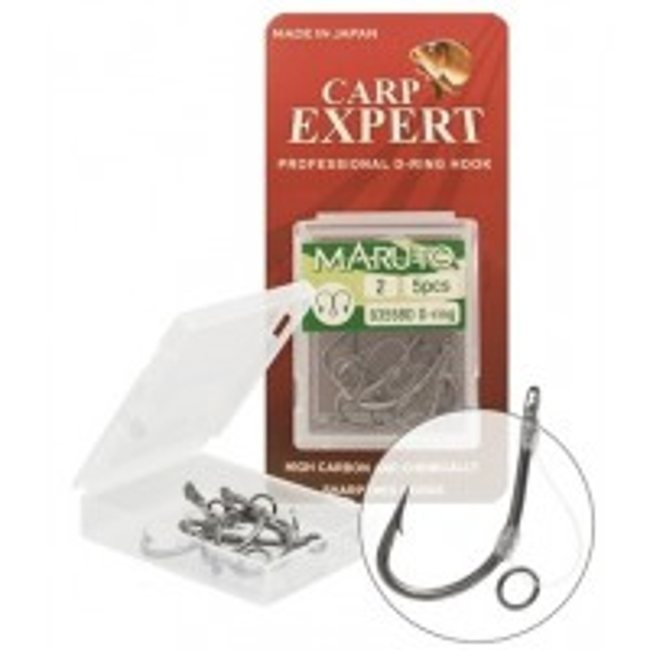 Carlige Legate Expert Carp Expert Maruto D-Ring, 5buc/plic