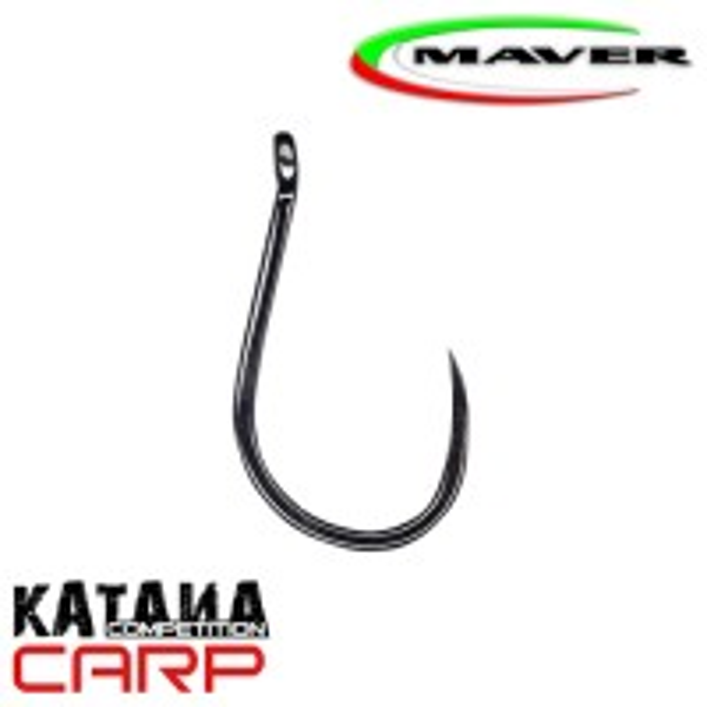 Carlige Maver Katana Competition Carp KC06B Barbless, 15buc/plic
