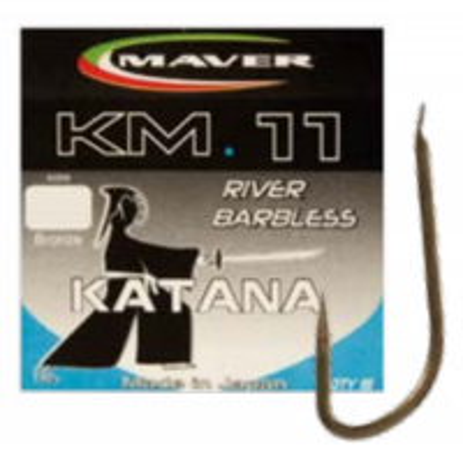Carlige Maver Seria Match KM11, Bronz, 15buc/plic