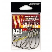 Carlige Offset Decoy S-Switcher Worm 104