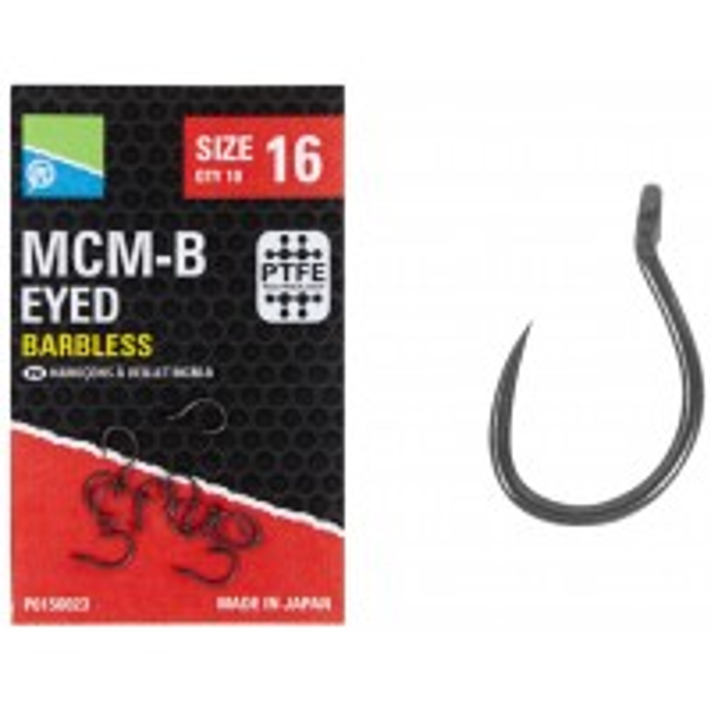 Carlige Preston MCM-B Eyed, 10buc/plic
