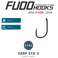 Carlige Fudo Carp STG-2, Black Nickel