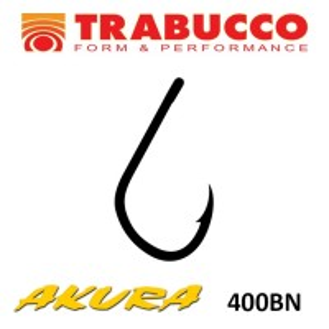 Carlige Trabucco Akura 400BN, 10 buc/plic