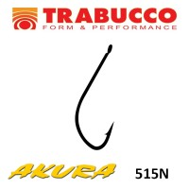 Carlige Trabucco Akura 515N, 15 buc/plic