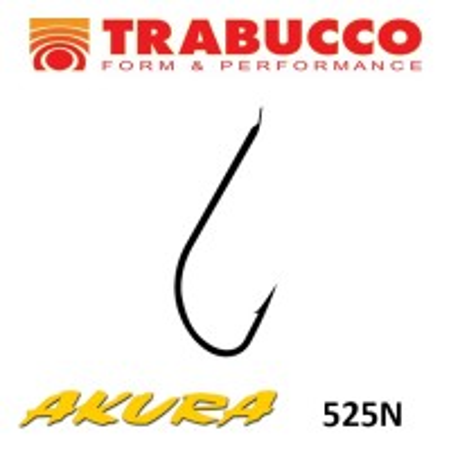 Carlige Trabucco Akura 525N, 15 buc/plic