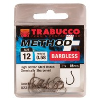 Carlige Trabucco Method Plus, 15 buc/plic