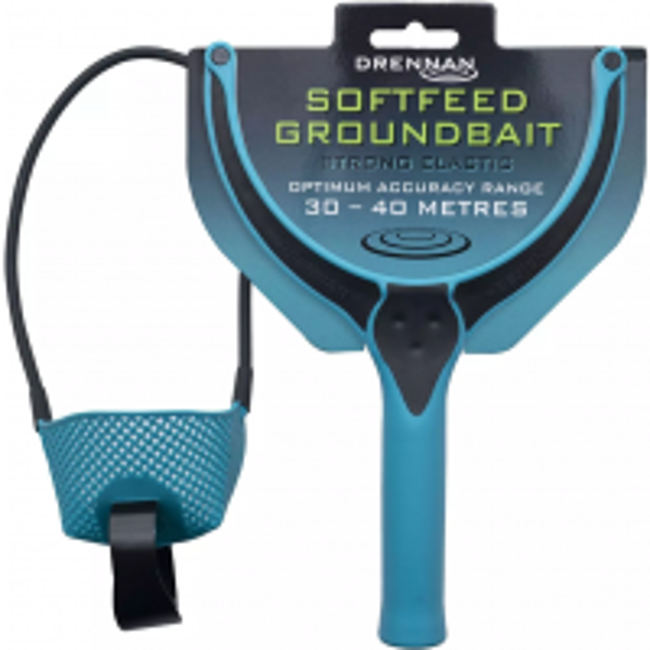 Prastie pentru Nadire Drennan Softfeed Groundbait Catapult, Strong Elastic