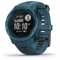 Ceas Garmin Instinct Graphite GPS, Lakeside Blue
