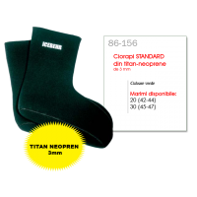 Ciorapi Neopren-Titan Behr Ice 86-156