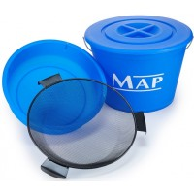 Combo 3 in 1 (Bac de Nada + Galeata + Sita) MAP Bucket Set