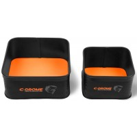 Combo Preston C-Drome EVA Bowl Set, 2 x Bac de Nada