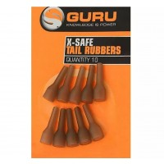 Con Protectie Guru X-Safe Tail Rubbers, 10buc/plic